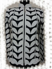 White Leather Leaf Jacket for Women All Colors All Regular Sizes Available