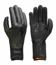 Xcel 5mm Drylock 5 Finger TDC Wetsuit Gloves Mens Unisex Surfing Watersports