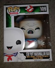 Stay Puft Marshmallow Man Toasted Funko Pop Movies Ghostbusters NO STICKER HTE