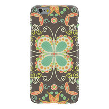 Butterfly Pattern Ultra Slim Hard Case for iPhone 6 6S 7 Plus
