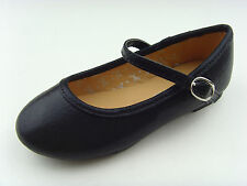 New Youth Kid Girls Mary Jane Ankle Strap Ballet Flats Casual Dress School Shoes