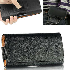 Leather Belt Clip Pouch Case Cover Holster For Apple iPhone 8/8 Plus 7/6 & iPods