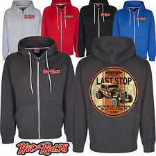 Hotrod 58 American Speed Shop Custom Vintage Classic Car Hoodie zip Jacket 32