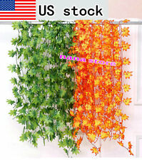 Artificial Grape Vine Leaf Garland Plants Vine Fake Foliage Flower Home 20style