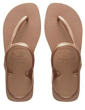 Havaianas Women`s Flip Flops Sexy Flash Urban Sandal Rose Gold All Sizes NWT