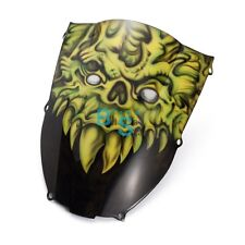 Airbrushed Monster Custom Windscreen Windshield Fit Honda Fairing motorcycle BSE