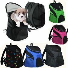 Dog Cat Pet Soft-sided Pet Carrier Dog Backpack Dog Rear Carrier w/ Mesh Window