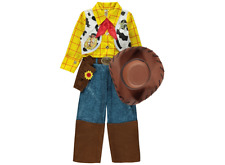 BOYS Disney Toy Story Woody Sound Effect Fancy Dress Up Costume Outfit 3-8 yrs