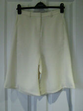 Topshop cream tailored culottes *BNWT* smart *workwear*