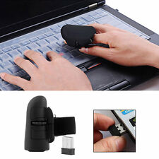 2.4GHz USB Wireless Finger Rings Optical Mouse 1600DPI For PC Laptop Desktop SY