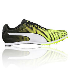 Puma EvoSPEED Star 5 Mens Yellow Running Spikes Track Field Shoes Trainers