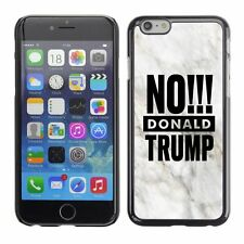 Hard Phone Case Cover Skin For Apple iPhone 103 BAN Donald Trump marble white bl