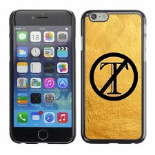 Hard Phone Case Cover Skin For Apple iPhone 174 trump is out yellow paint wall
