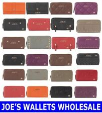 JOE'S WALLETS LOT WHOLESALE SMALL LARGE ASSORTED LOT MIXED COLOR MIXED STYLE NEW