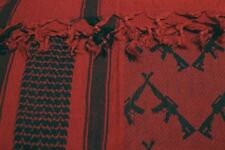 Crossed Rifle Shemagh Scarf