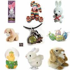 Child Toys Hopping Wind Up Easter Chick and Bunny