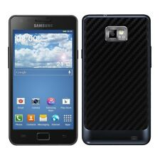 BATTERY BACK COVER CARBON LOOK FOR SAMSUNG GALAXY S2 I9100 / S2 PLUS I9105 BLACK