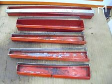 SNAP-ON, TRAY, POUCH, HOLDER LOT, USED, GOOD CONDITION, VARIOUS SIZES, 17 PCS.#