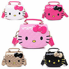 New Women Girl Hellokitty Messenger Bag handbag purse lon-5177