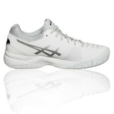 Asics Gel Challenger 11 Mens White Tennis Sports Shoes Trainers Pumps