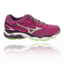 Mizuno Wave Ultima 8 Womens Purple Cushioned Running Sports Shoes Trainers