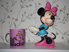 "DISNEY STATUE FIGURE MINNIE MOUSE LARGE 9"" SOLID RESIN COLLECTABLE"
