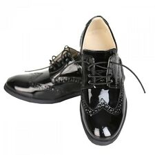 Boys Black Brogue Formal Shoes Boy Shoes Kids Oxford Shoes in Black
