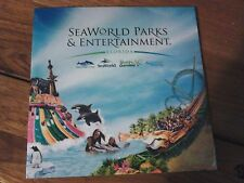 SEAWORLD PARKS & ENTERTAINMENT FLORIDA HOLIDAY GUIDE DVD BRAND NEW & SEALED