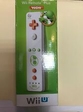 New Wii Remote Plus for Nintendo Wii and Wii U - Yoshi Model:24617735