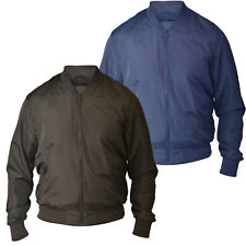 D555 Mens Lined Bomber Jacket (JAMES)