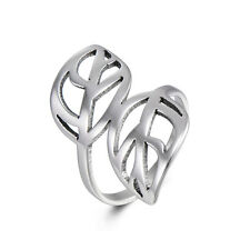 Womens Fashion Rings Cocktail Ring Ring Size 8 Leaf Free Shipping Gift
