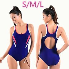 New Fashion Sports Swimwear Sexy Halter Swimsuit Solid Bikini for Ladies SY