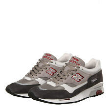 New Mens New Balance  1500 Trainers - Grey/Red Classic Traditionnels Suede
