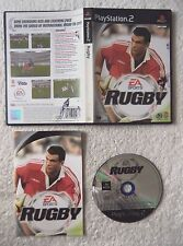 30463 Rugby - Sony Playstation 2 Game (2001) SLES 50220