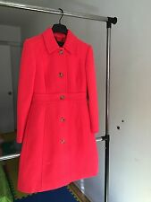 NWT PETITE DOUBLE-CLOTH LADY DAY COAT WITH THINSULATE NEON FLAME