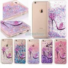 Dynamic Liquid Glitter Quicksand Bumper Hard Case Cover For iPhone 7 7Plus 6 6S