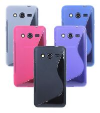 Gel Silicone Cover Silicone Case Bumper for Samsung Galaxy Core 2 G355H@Cofi