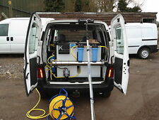 Water Fed Pole System, Full RO free 'Fitting at your Address' 1 Man £2,225