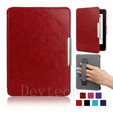 Smart Slim Magnetic Leather Stand Case Cover for Amazon Kindle Paperwhite Kindle