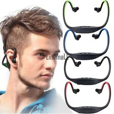 Sport Wireless Bluetooth Stereo Headphone Headset Earphone For iPhone/ PC LM