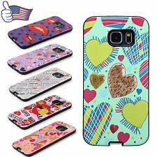Soft TPU Heart Love Lips Special Protector Case Cover for Samsung S7 Edge S6