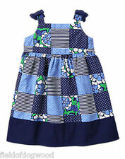 NWT Gymboree SPRING PREP Patchwork Dress 12 18-24months 2T 3T 4T 5T Girl Toddler