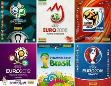 World Cups & Euros 2006/2016 - Pick stickers from lists in description - PANINI