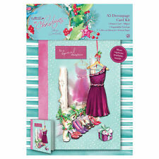 Papermania 'At Christmas by Lucy Cromwell' A5 Decoupage Card Kit