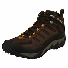 Mens Merrell Lace Up Walking Boots - Refuge Core