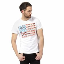 Wrangler Mens White Printed T-Shirt From Debenhams