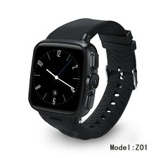 Smart Watch 3G WiFi Capacitive Touch Screen Android Phone Heart Rate 512M+4GB