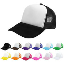Blank Plain Snapback Hats Unisex Men's Hip-Hop adjustable bboy Baseball Cap Hot