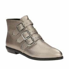 Clarks **Stanhope Ankle Metallic Leather** Women's Ankle Boots UK 7 RRP£130