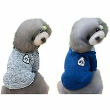 Small Dog Cat Pet Warm Sweater Coat Puppy Knitted Winter Costume Apparel S-XXL